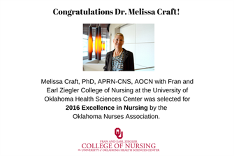 Congratulations Dr. Melissa Craft