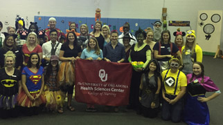 The OU Lawton SNA Sponsored Halloween Carnival