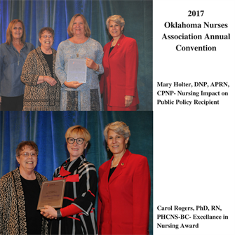 OU Nursing Faculty Receive Awards at ONA Conference