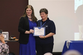 Nursing Faculty Stein Accepts 2018 OKMRC Youth Engagement Award